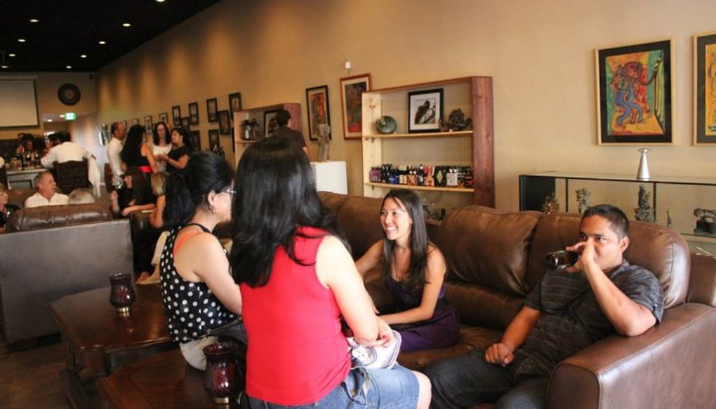 Art on the Vine, August 6th at Mari's Wine Bar