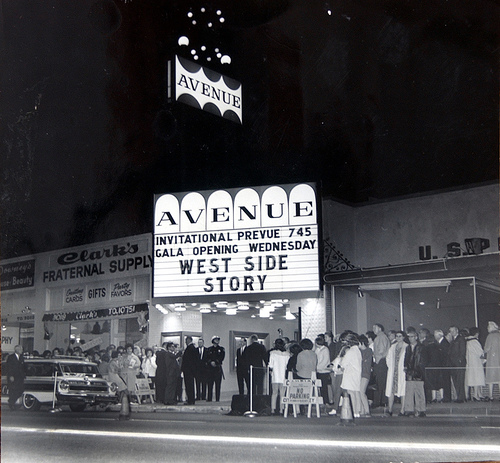 The Avenue Theatre - Historical Photo