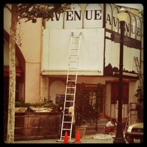 Avenue Theatre Mural Project