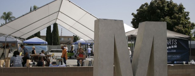 On Sunday, the Downey Arts Coalition put on an intimate art fair featuring local artists and local arts organizations gathering together to talk about what they do and meet each other.  With participation from the Downey Museum of Art, Third Thursday Poetry, Nuvein Foundation, Zzyzx Writers, Friends of the Library, Make Music Downey, OLPH,...