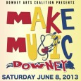 "This Saturday June 8th, downtown Downey will come alive to participate in an international music celebration, ""Make Music Downey,"" follows in the footsteps of annual events in hundreds of cities around the world with an open opportunity for musicians to perform at businesses or performance venues that sign up to participate. In Downey, this is..."