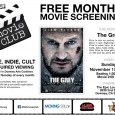 This is not an action movie about a man fighting wolves. The film is more akin to a 19th century, epic, tone poem. Watching this film is like getting punched in the gut by Liam Neeson. Please come early to reserved your spot (around 1:30pm), and support our sponsor by placing your order for […]