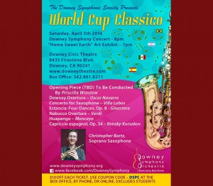 "Downey Symphony Concert ""World Cup Classico"" @ Downey Civic Theatre 
