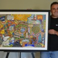 The City of Downey has awarded a contract to local artist Don Lamkin to recreate his popular collage of Downey images as a mural of the east side of Porto's parking structure. The painting will be financed by the Art in Public Places fund, and it is the first time a Downey artist has been […]