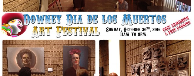 "This Sunday, DAC's own Carolina Del Toro has curated a new show of work around ""the Day of the Dead"" for the Dia De Los Metros festival at the Downey Theatre. Come upstairs and enjoy the art exhibit in the lobby of the theatre. Full press release follows: —— Approximately 15,000 festival goers will enjoy […]"