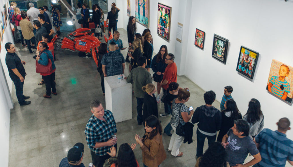 "Sergio Robleto's exhibit ""For the People"" at Stay Gallery"